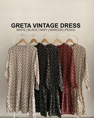 Greta vintage dress