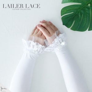 LAILER LACE HANDSOCK IN SNOW