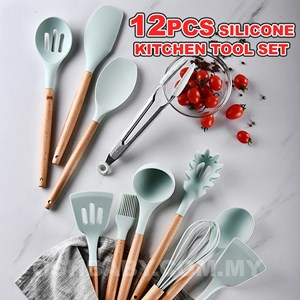 12PCS SILICONE KITCHEN TOOL SET ETA 29 JUNE 20