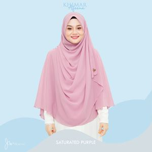 KHIMAR AFEENA 07 (SATURATED PURPLE)