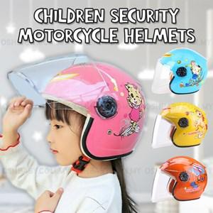 CHILDREN SECURITY MOTORCYCLE HELMETS