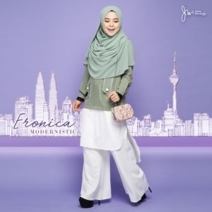 ERONICA MODERNISTIC ~WHITE~ (OLIVIA GREEN)