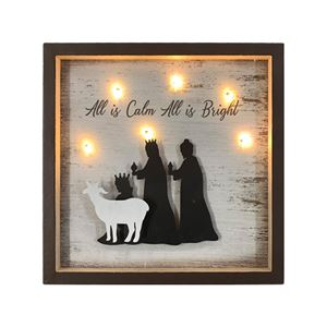 MDF Light Up Shadow Box