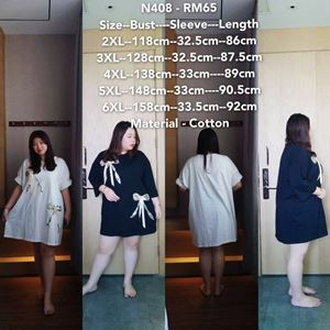 NC408 Ready Stock   *Bust 46 to 52 inch/ 118-158cm