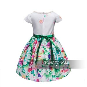 CLEARANCE STOCK GREEN FLOWER BEAUTIFUL DRESS