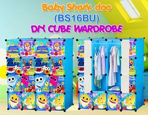Baby Shark Doo BLUE 16C DIY WARDROBE (BS16BU)