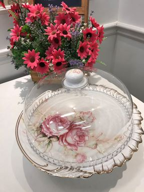 CAKE PLATE FAIRYPINK