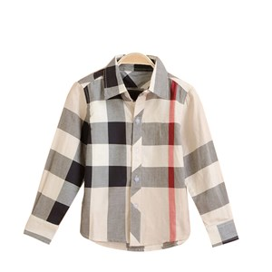 925  BURBERRY SHIRT ( SIZE 2Y-7Y )  BROWN