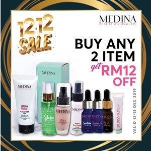 Sunblock 15g + Serum (2 item RM 12 OFF)