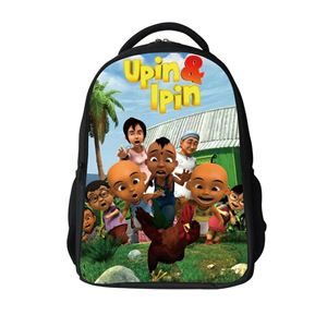 Upin Ipin School Bag - Backpack