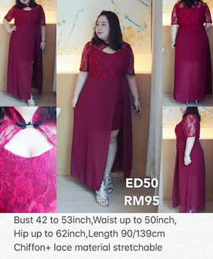 ED50 *Bust 42 to 53inch/ 106-134cm