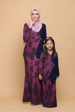 DEWI NAVY BLUE / ORCHID (KIDS)