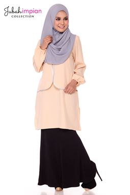 Blouse Vee le anna ( Brown )