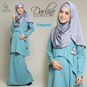 Darline Kurong Moden : Turquoise