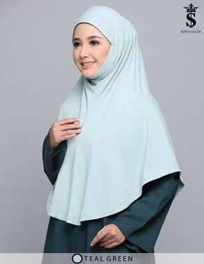 TEAL GREEN HIJAB