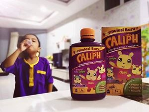 CALIPH Kids Supplement (FREE GIFT Soap with Toys)