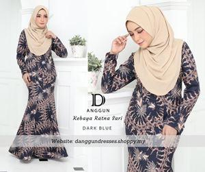 Kebaya Batik Ratna Sari Dark Blue