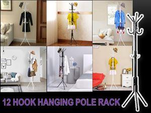 12 Hook Hanging Pole Rack N00946 ETA 23 JULY 18