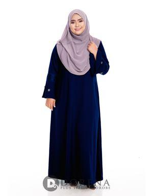 ADHANIE Jubah Dark Blue