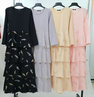 9016# LAYER DRESS LAFINA