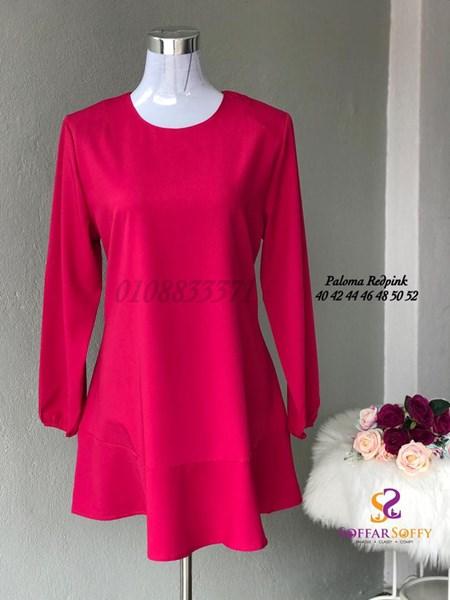 PALOMA RED PINK ( SAIZ 40 42 44 46 48 50 52 )