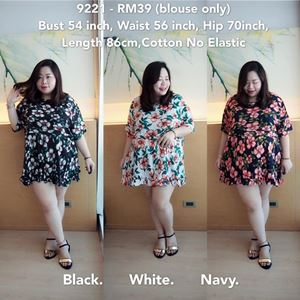 9221 Ready Stock *Bust 54 inch/ 137cm