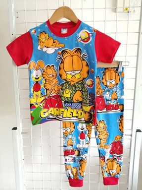 Pyjamas GARFIELD FENDI Red : Kids Size 3/4 only