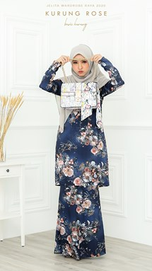 BASIC KURUNG ROSE IN SARIMAH