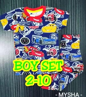 Pyjamas CARS CHAMPIONSHIP : Kids 2- 10