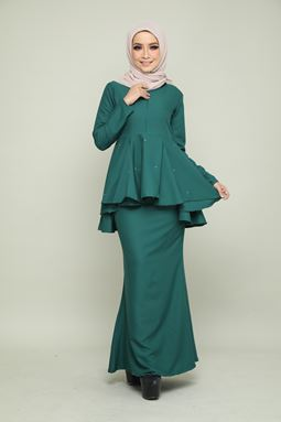 BELLA KURUNG - EMERALD GREEN