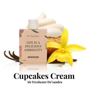 Air Freshener - Cupcakes Cream
