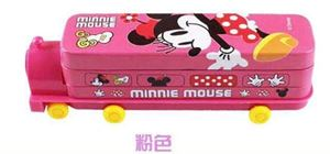PREORDER MINNIE MOUSE ( PINK ) PENCIL BOX WITH SHARPENER ( ETA MID-END DEC )