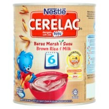 Nestlé Cerelac Brown Rice & Milk Infant Cereal with Milk From 6 Months 350g