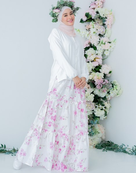 NUR 2.0 BLOSSOM SKIRT IN LAVENDER ROSE