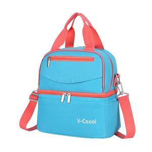 V-COOL COOLER BAG- Light Blue
