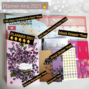 Planner 2021 🔥 Planner Ana Exclusive TRENDY DESIGN