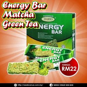 DASTO ENERGY BAR MATCHA