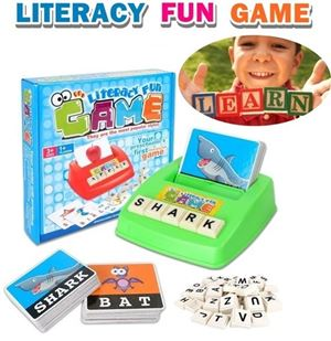 LITERACY FUN GAME N00493