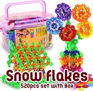 Snow Flakes 520pcs set with Box