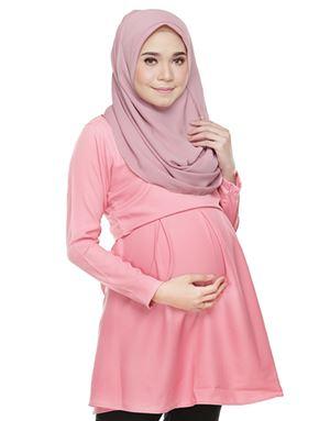 Alarra Blouse - Light Pink