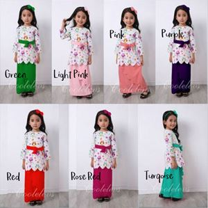 COOLELVES RAYA KURUNG SET ( 1T-8T )