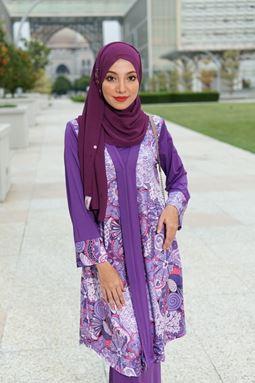 Baju Kebarung Jameela (KJ101) - Koleksi Raya 2019