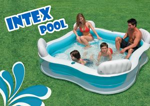 INTEX POOL with pump ready stock