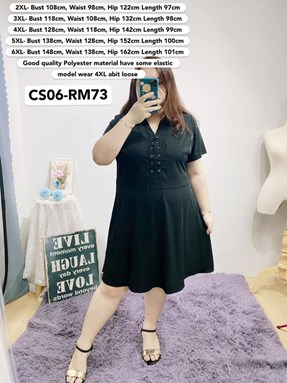 CS06 Ready Stock *Bust 43 to 58 inch/ 108-148cm