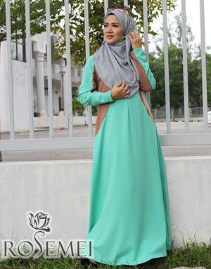 CATALIA DRESS - MINT GREEN
