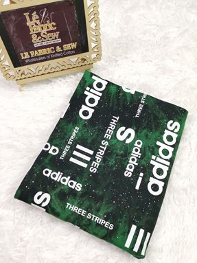 ADIDAS GREEN DYED