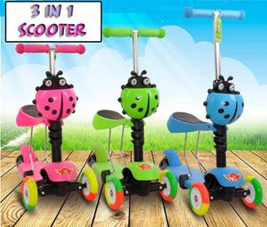 3in1 LadyBird Scooter
