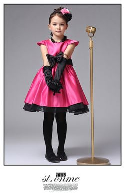 @  SPUNKY KIDS PINK DRESS