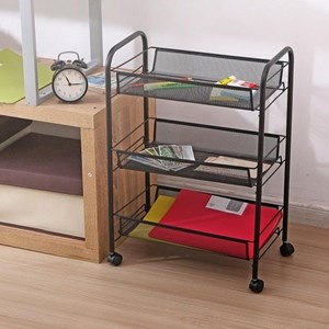 MOVEABLE STORAGE TROLLEY 3 LAYER