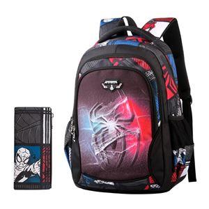 Primary School Bag + Pen Case ( SPIDER )